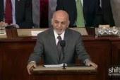 Afghani President addresses Congress