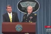 Carter, Dempsey hold briefing