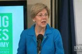 Warren, De Blasio share economic report