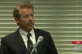 Rand Paul campaigns in Brooklyn
