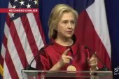 Hillary Clinton Talks Voting Rights