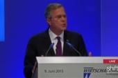 LIVE: Jeb attends Berlin Economic Conference