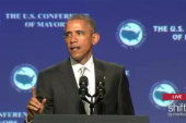 Pres. Obama at U.S. Conference of Mayors