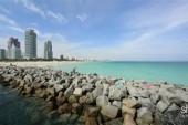Worrisome rising sea levels of Miami Beach