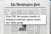 CDC resumes transfer of biological materials