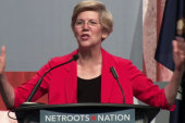 Warren taking cues from Obama's playbook?