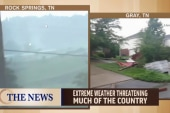 Extreme weather weekend: Lighting, tornadoes