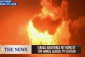 Israeli airstrikes hit home of Hamas leader
