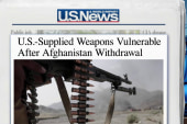 US weapons go missing in Afghanistan