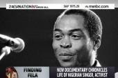 Musical 'Fela!' turned into documentary