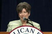 How far right is Joni Ernst?
