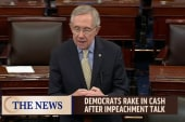 Dems benefiting from impeachment talks