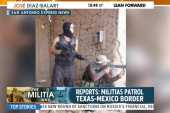 Militia members take to southern border