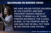 Bachmann's latest conspiracy over border kids