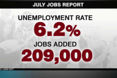 July report shows continue uptick in economy