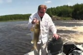 Ed Schultz shows off his biggest catch