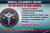 Examiner: Eric Garner death a homicide