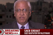 Erekat: Palestine ready to end violent cycle