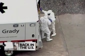 American Ebola patient's treatment continues