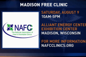 Free medical clinic offered on Saturday