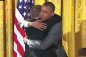 Sometimes Pres. Obama just needs a hug
