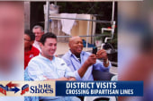 Congressman cross bipartisan lines on visit