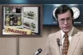 Colbert goes retro to salute Nixon