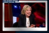 Hillary Clinton drops by 'The Colbert Report'