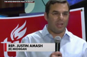 Rep. Amash wins primary, berates opponent