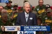 Bill Clinton stumps for Grimes in Kentucky