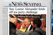 Alexander's win and death of the tea party