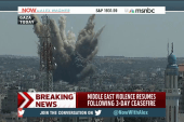 Cease-fire comes to an abrupt end