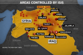 Aid and airstrikes in Iraq