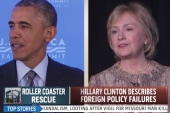 Clinton describes foreign policy failures