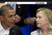 Clinton breaks with Obama on foreign policy