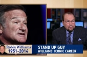 'There will never be a Robin Williams again'