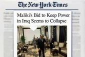 Maliki continues to lose support in Iraq