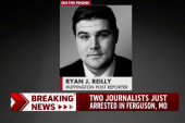 Reporter arrested in Ferguson speaks to...