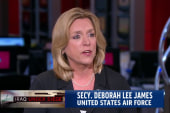 Air Force secretary: Airstrikes are working