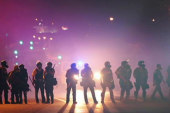 Protesters, journalists detained in Ferguson
