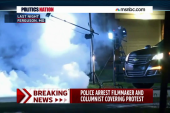 Police vs. press in Ferguson
