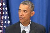 Obama's historic statement on Michael Brown