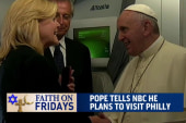 Pope Francis plans to visit Philadelphia