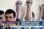 Trial for Venezuelan opposition leader...