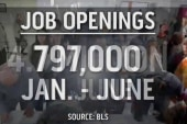 A look at unfilled jobs in the US market