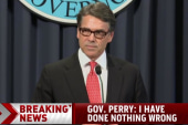 Rick Perry: I have done nothing wrong