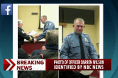 Photo of Officer Darren Wilson identified