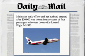 Report: Money stolen from MH370 victims