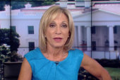Andrea Mitchell accepts ice bucket challenge