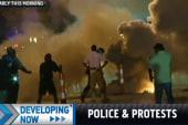 Intense clashes in Ferguson